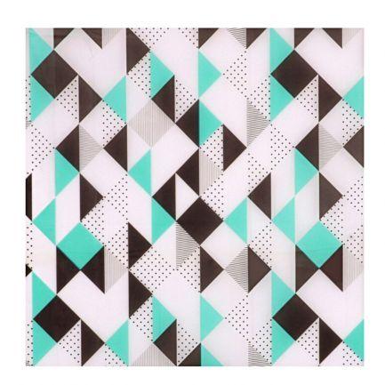 Perdea de duș cu model geometric, Urban Living, 180x180 cm