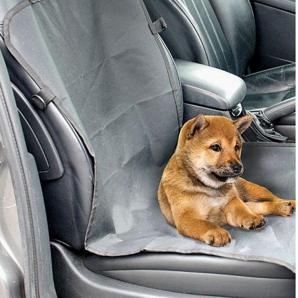 Husă auto de protecție pentru transport animale, Dogi, 53x116 cm, neagră