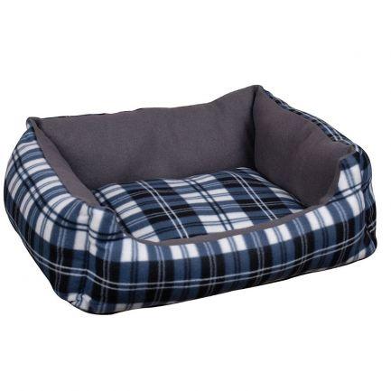 Culcuș confortabil pentru câini, Dogi, 53x42x17 cm, gri