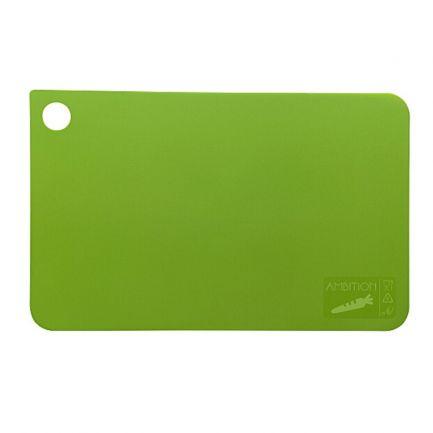 Tocător din plastic, 31.5x20 cm, verde