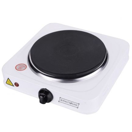 Plită electrică Royalty Electric Hot Plate, termostat reglabil, diametru 18.5cm, 1500W