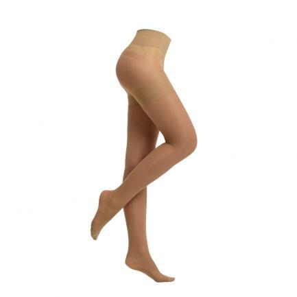 Ciorapi modelatori ultra-rezistenți cu talie înaltă, Sankom, 40 Den, Bej