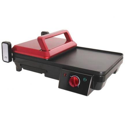 Grill electric cu termostat, Home Vero, 43.2x39.1x15 cm,  2000 W