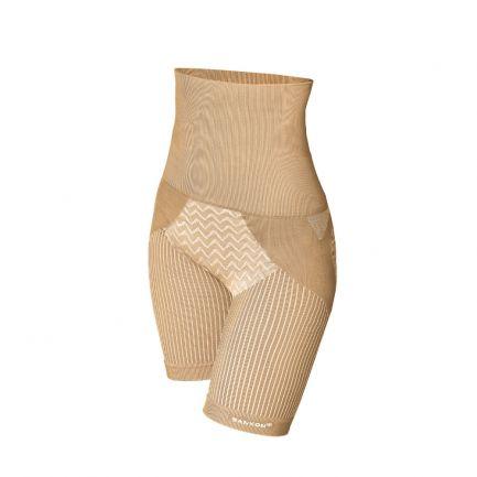 Pantaloni scurți modelatori cu talie înaltă, Sankom, Bej