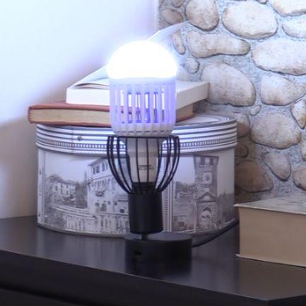 Lampă 2in1 antiinsecte cu lumină UV Killer Lamp