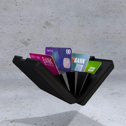 Portofel cu protecție pentru carduri și baterie externă Titanium Power Wallet