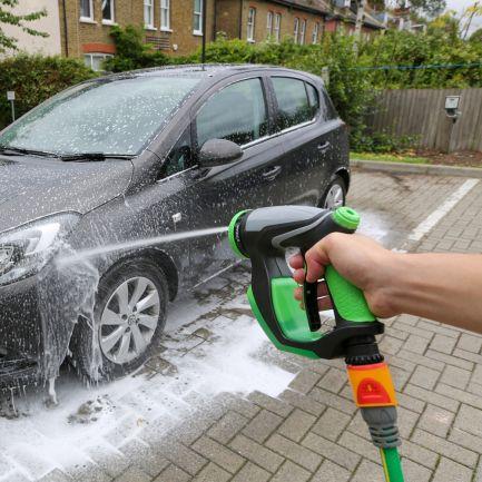 Pistol spălare auto cu presiune și rezervor de spumă Foam Jetter