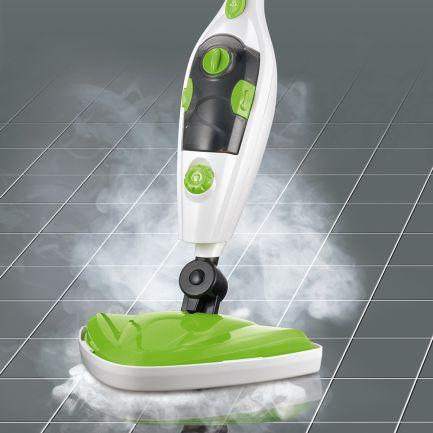 Mop cu aburi și aparat portabil pentru curățare Cleanmaxx 5in1 Steam Mop