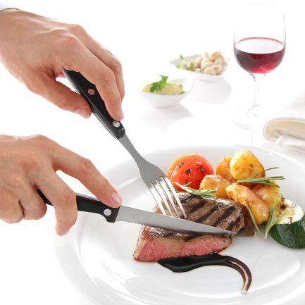 Set 6 cuțite pentru friptură