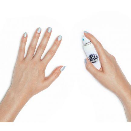 Ojă pulverizantă, Air Nails, argintie