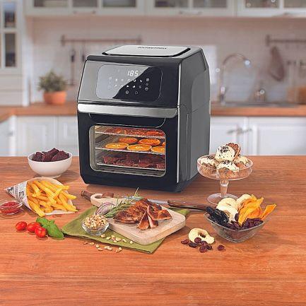 Friteuză fără ulei 12in1, Supreme Hot Air Fryer, multifuncțională