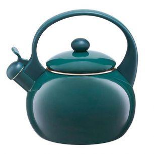 Ceainic din oțel carbon cu înveliș emailat, 1.9 L, turcoaz