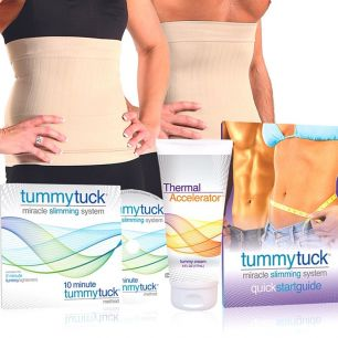 Kit complet pentru slăbit, Tummy Tuck, unisex
